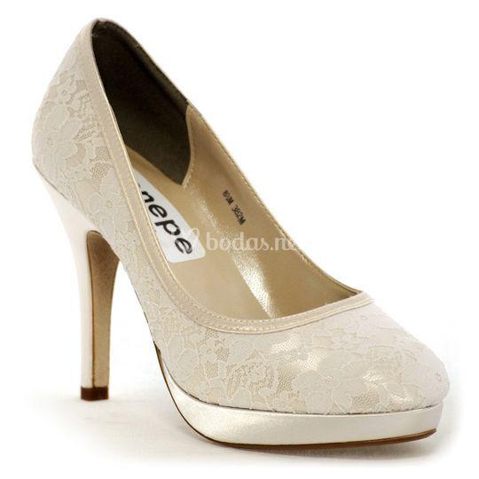 enepe zapatos de novia, barcelona