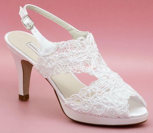 roto sandra 187 enepe foto barcelona de zapatos novia de blanco 11wq5pa4
