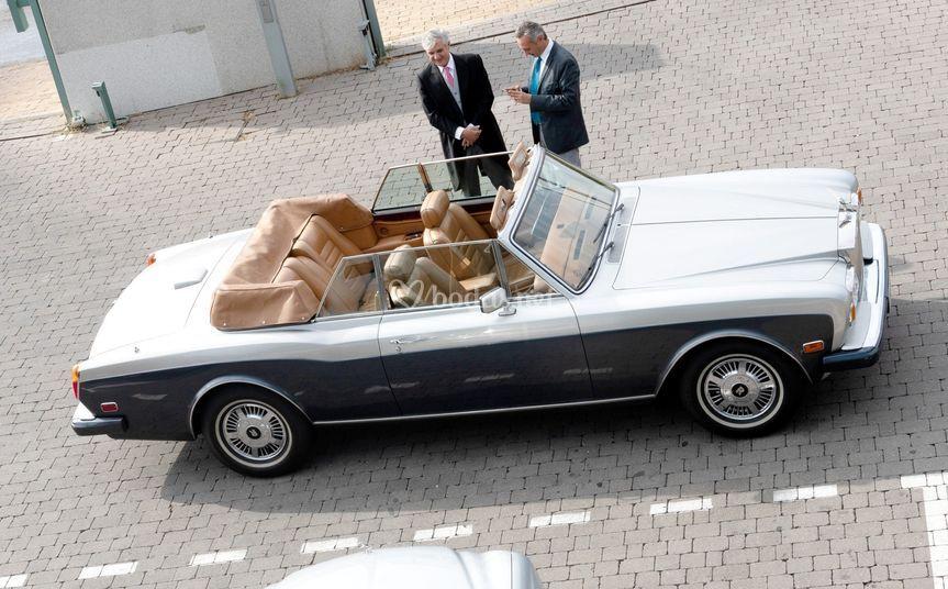 Alquiler de coche clásico