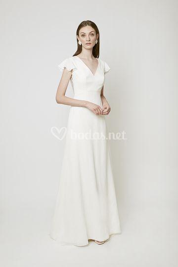 Vestido de novia Galerne