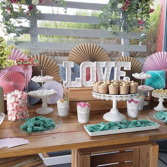 ¡Mesas dulces!
