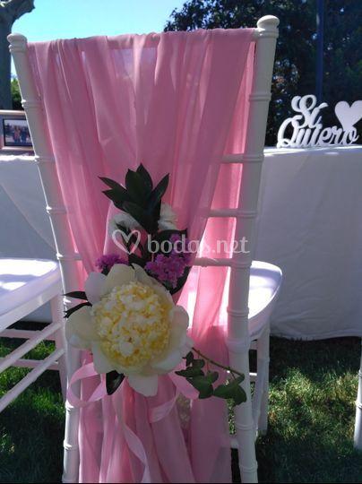Silla de novia