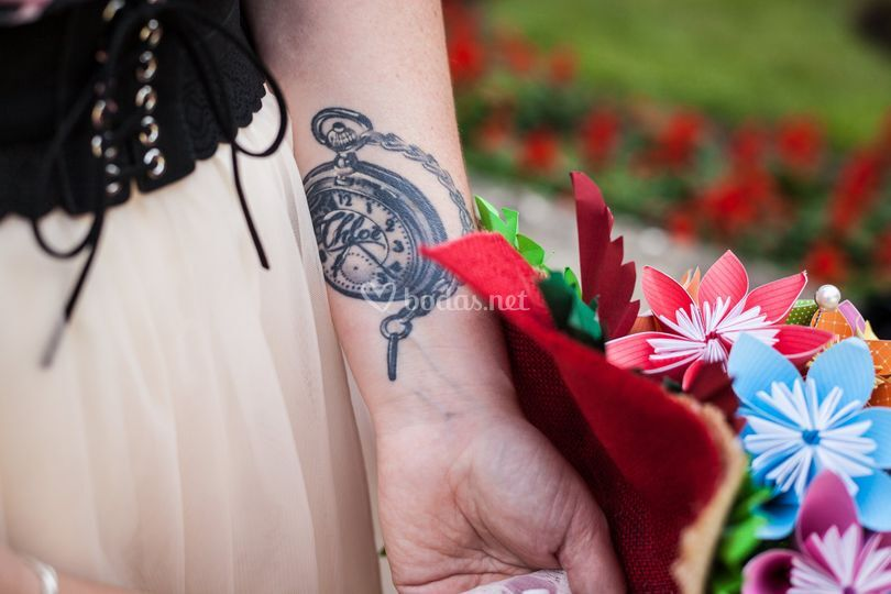 El tatoo de la novia