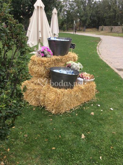La finca de duque for Decoracion jardin rural