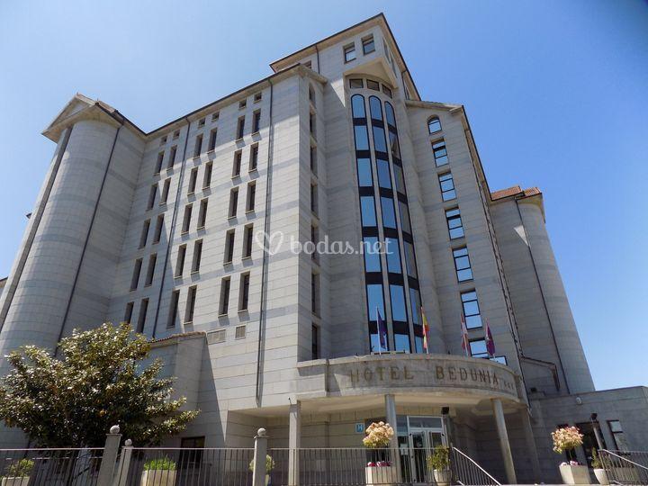 Fachada de Hotel Bedunia