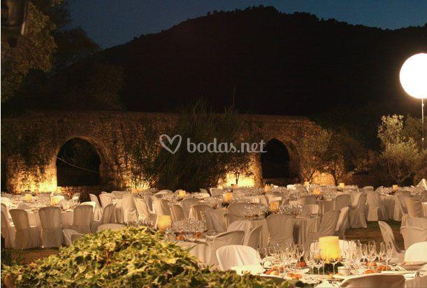 Elegantes banquetes