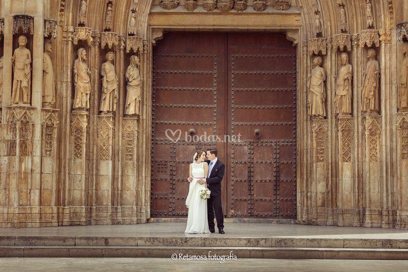 Por la catedral