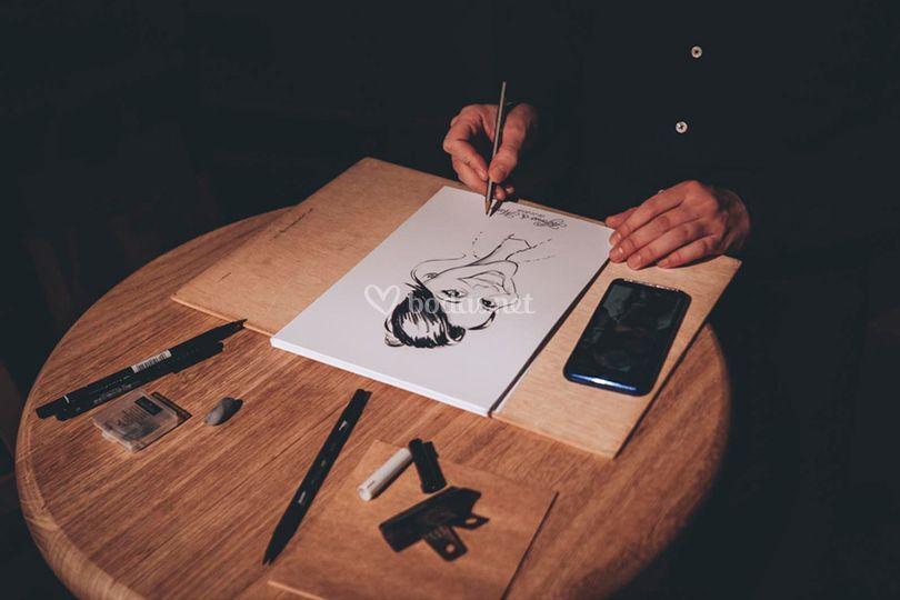 Caricature show
