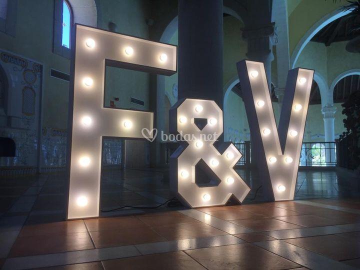 Letras Luminosas 120cm