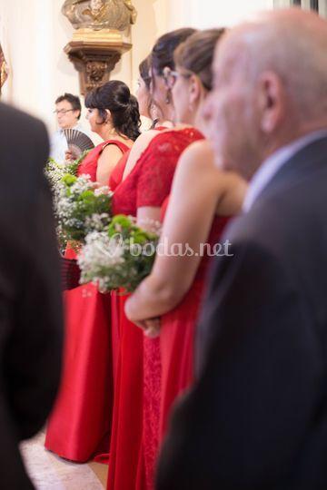 Organiza la ceremonia