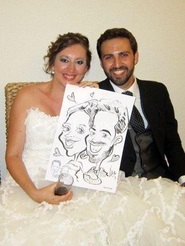 Caricaturas para bodas
