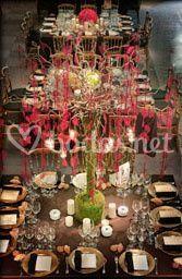 Centro de mesa. Arbol de Salix