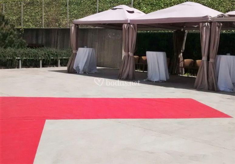Zona cocktail bienvenida