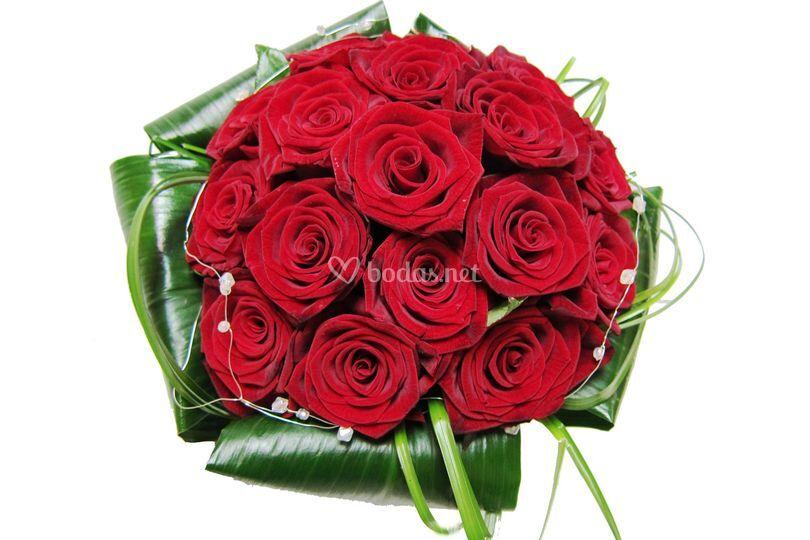 Bouquet novia, afrodita