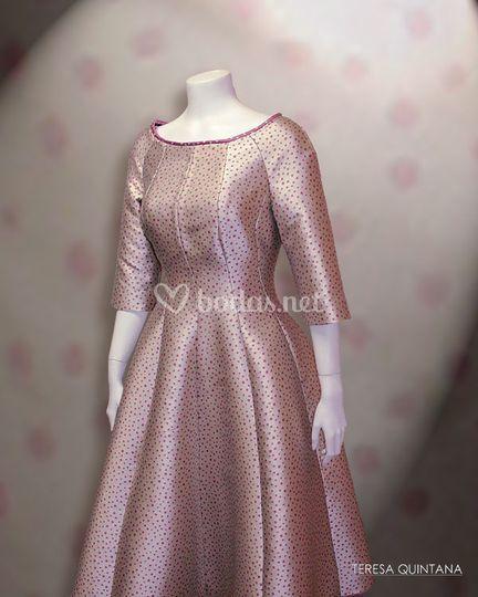 Vestido inspirado en los 50