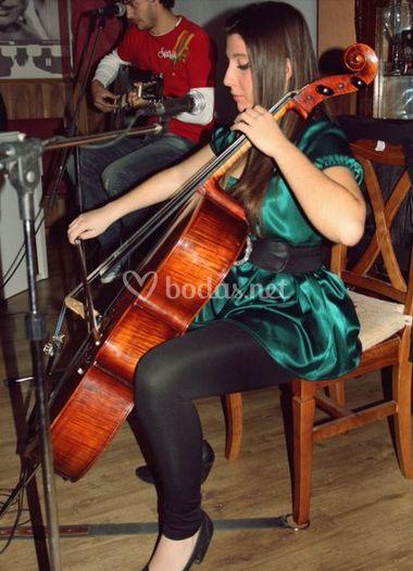 Nuestra violonchelista