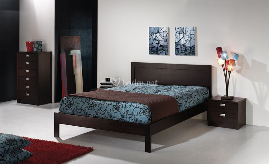 Dormitorio wengue