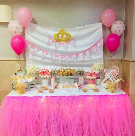 Mesa dulce princesa
