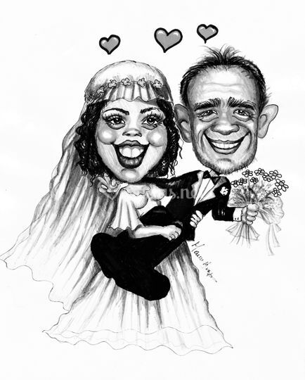 Marina Braga - Retratos y caricaturas por encargo