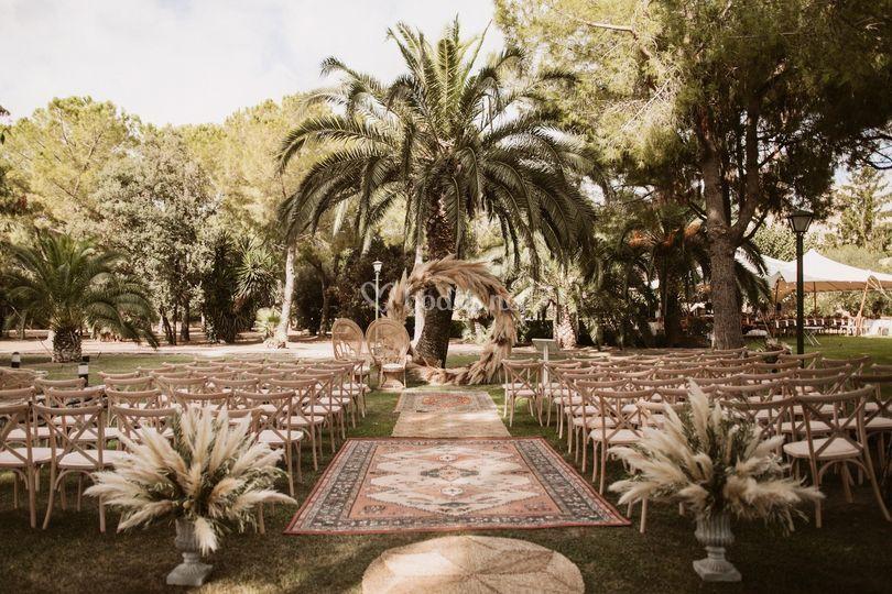 Zona ceremonia