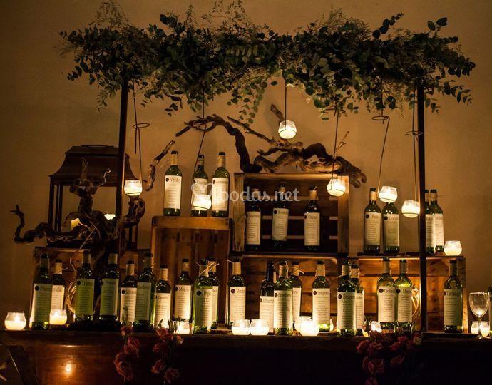 Seating plan - boda de noche