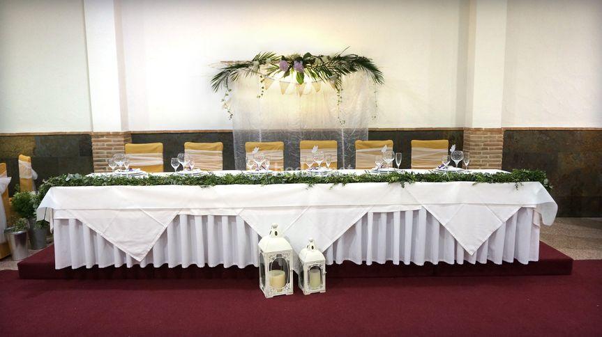 La mesa importante