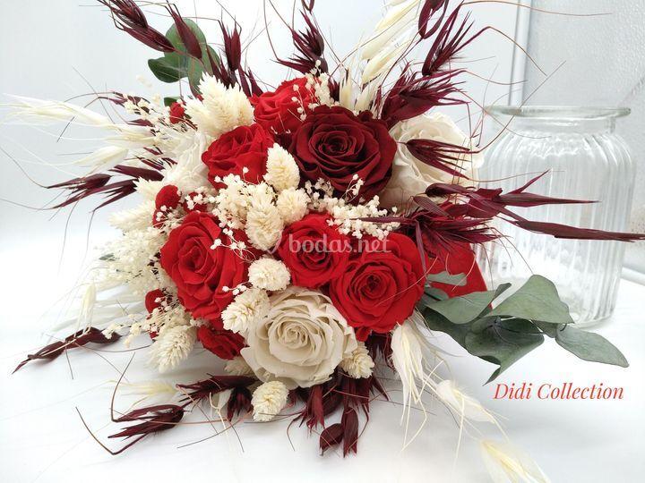 Ramo rosas invierno