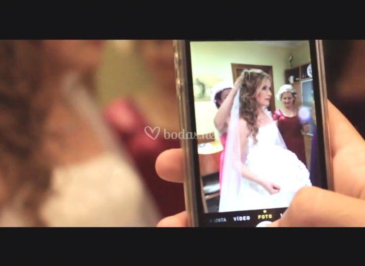 Frame vídeo boda