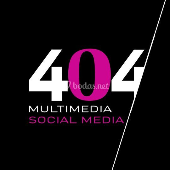 Logotipo 404 Multimedia