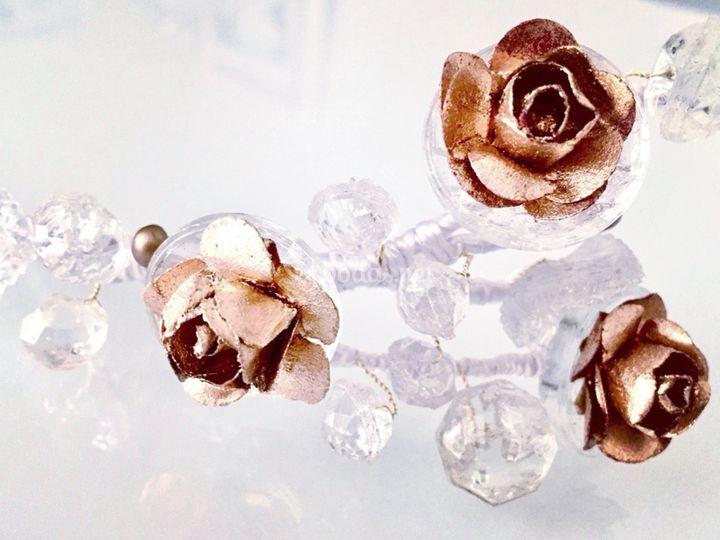 Botones antiguos de cristal