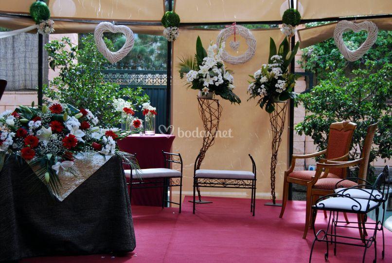 Escenario ceremonia