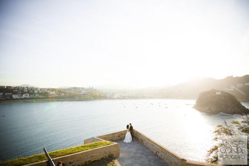 Reportajes de boda en Urgull