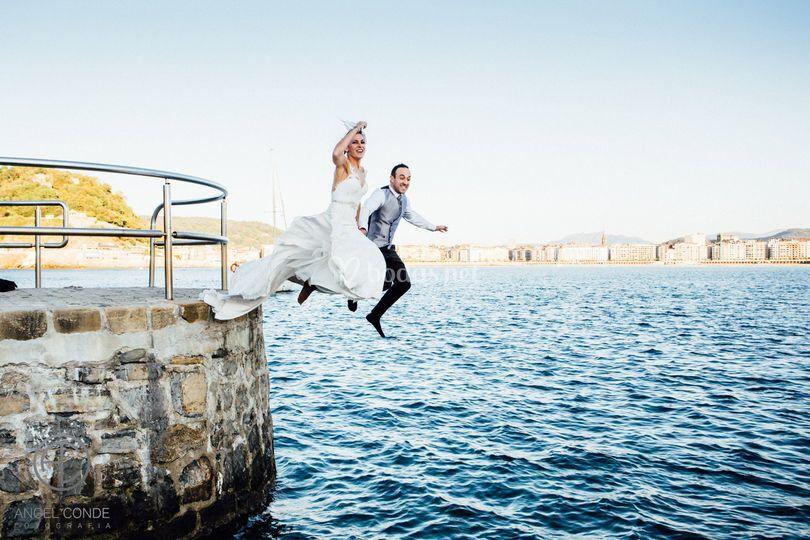 Fotografo de boda sansebastian