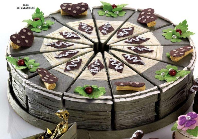 Porcion pastel