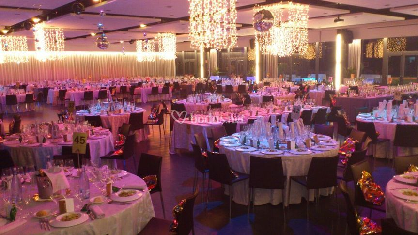 Iluminacion Sala de fiestas
