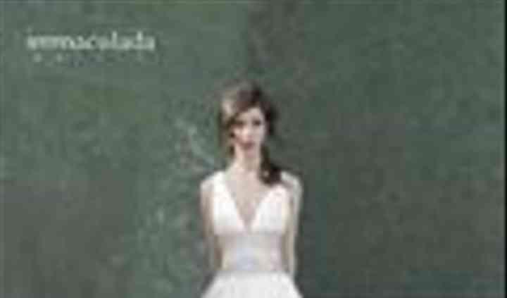 Vestido immaculada garcia