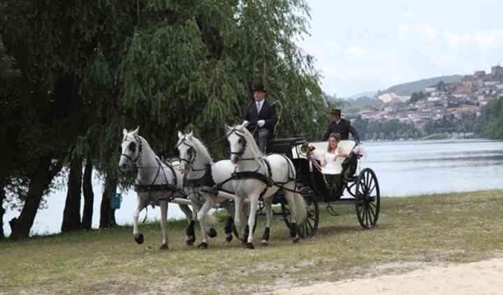 Transportando a la novia