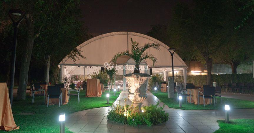 Jardín Bambú