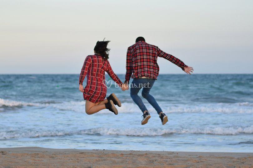 Saltos de alegría