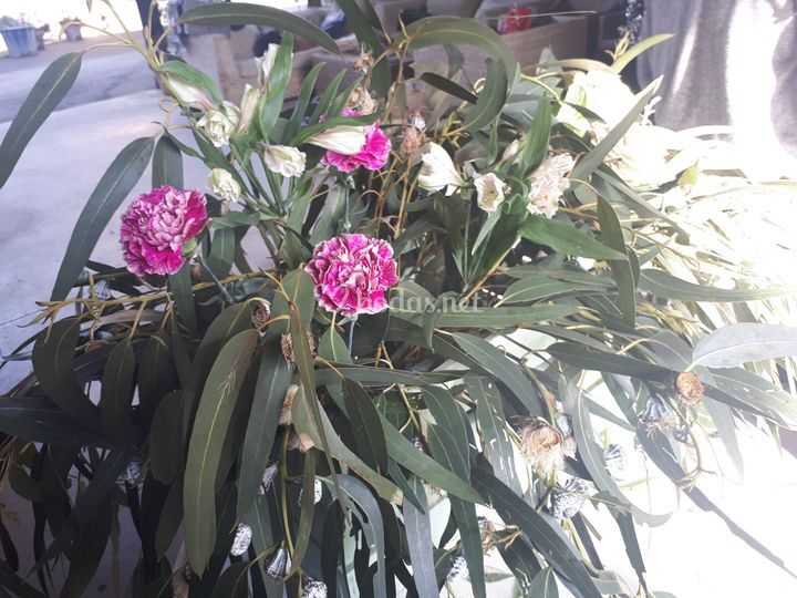Montaje floral ceremonia