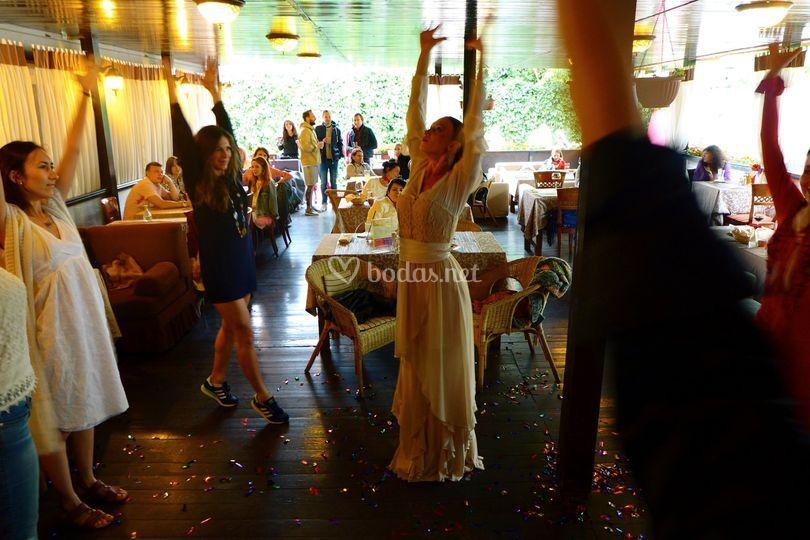 Taller participativo flamenco