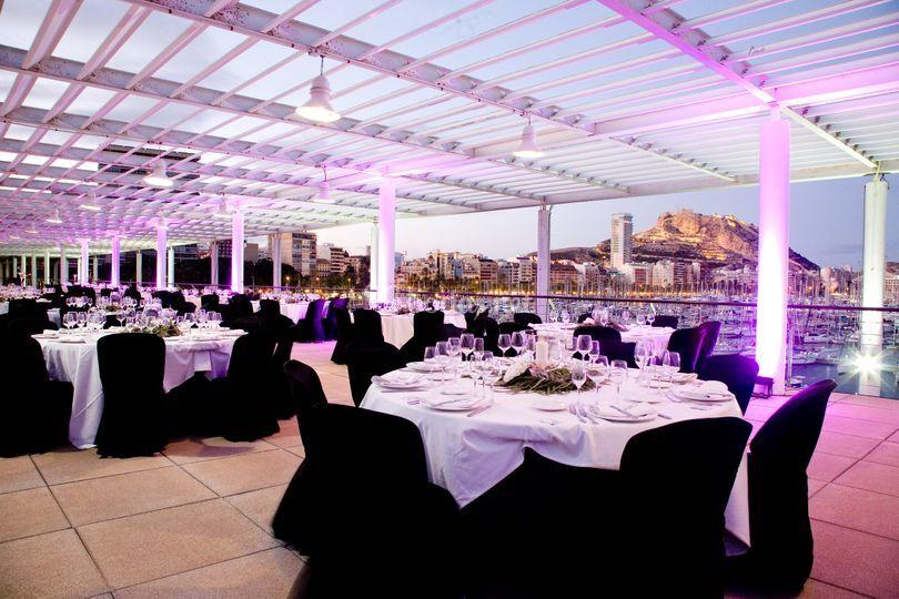 Banquete exterior