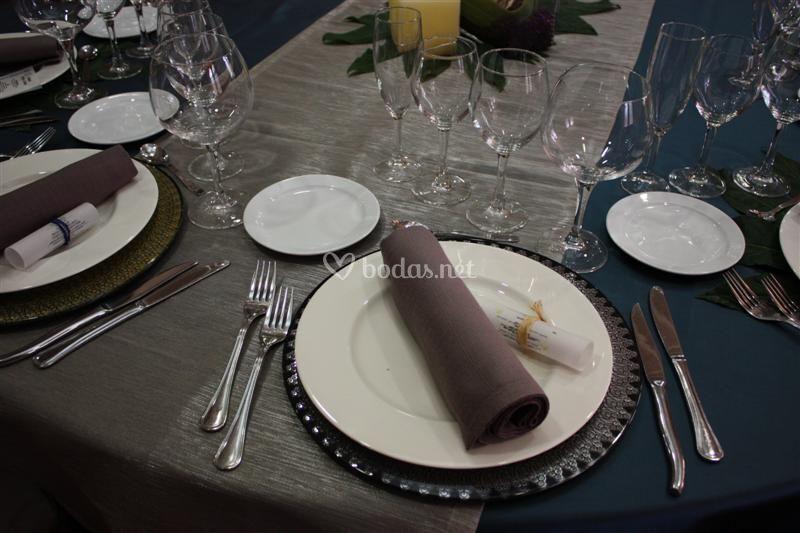 Detalles de mesas