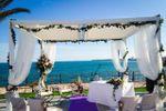Ceremonia con vistas a la playa de Restaurante Punta Prima