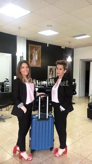 Marta Moure y Nati Alvarellos