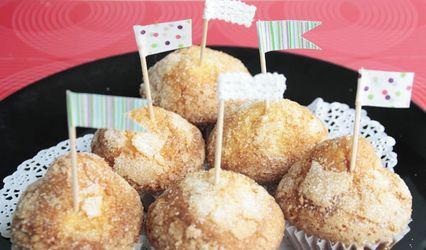 Mini caketoppers para la mesa de dulces