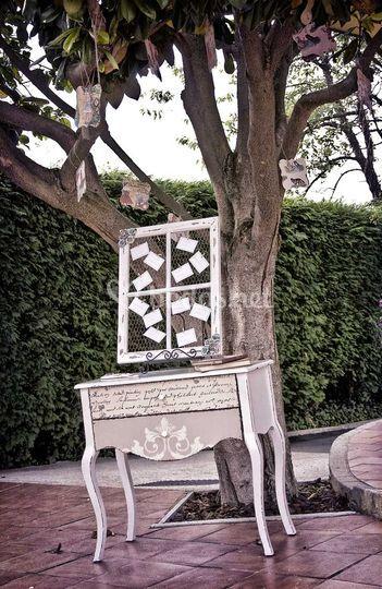 Aperitivos y árbol de cuentos