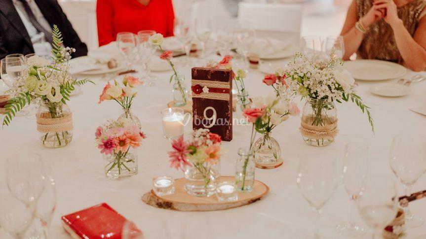 Banquete/decoración