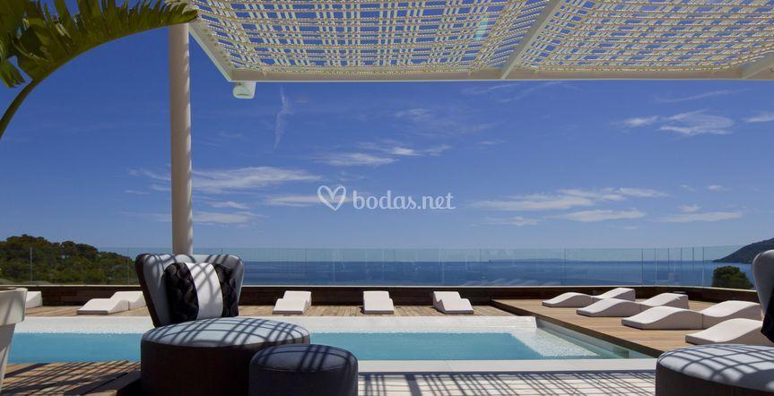 Terraza de aguas de ibiza lifestyle spa foto 5 - Spa aguas de barcelona ...