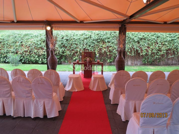 Ceremonia Terraza Infantas